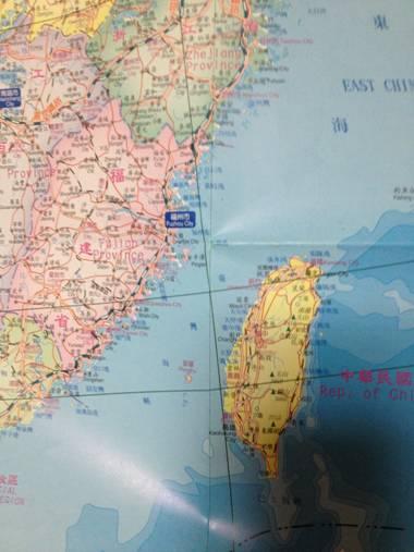 /台湾出版的中国地图介绍